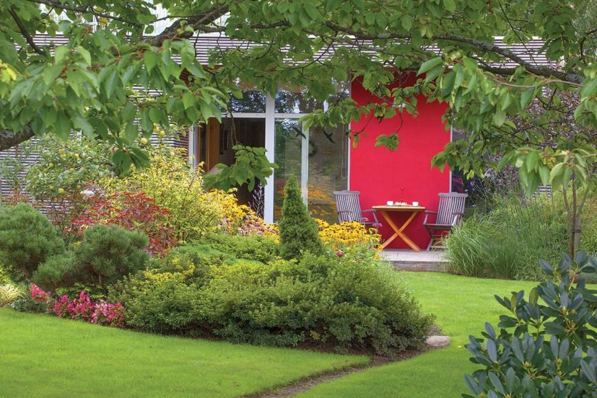 letni ogród aranżacje