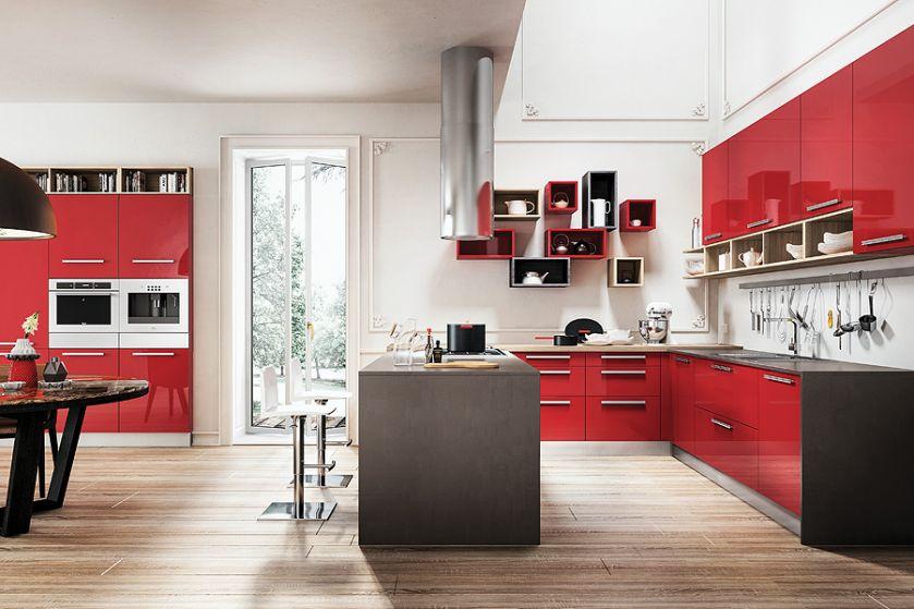 Model Lux Amarena, Homecucine. Jak urządzić kolorową kuchnię