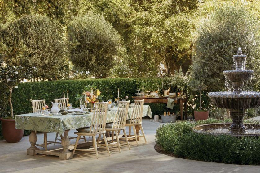 eleganckie przyjęcie w ogrodzie