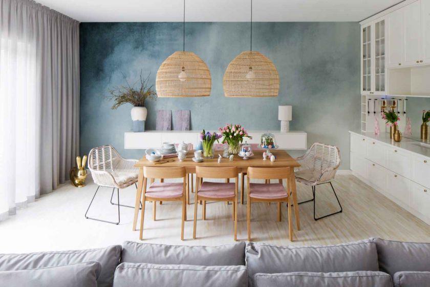 modne kolory ścian w kuchni