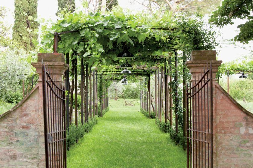 Włoski ogród jak ze starej ryciny