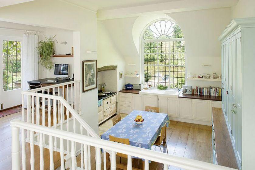 kuchnia otwarta na dom