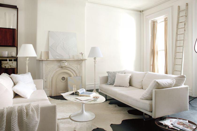 Białe ściany