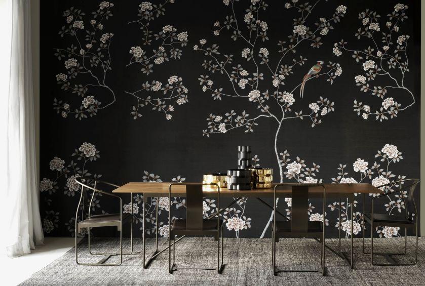 nowoczesny drewniany stół