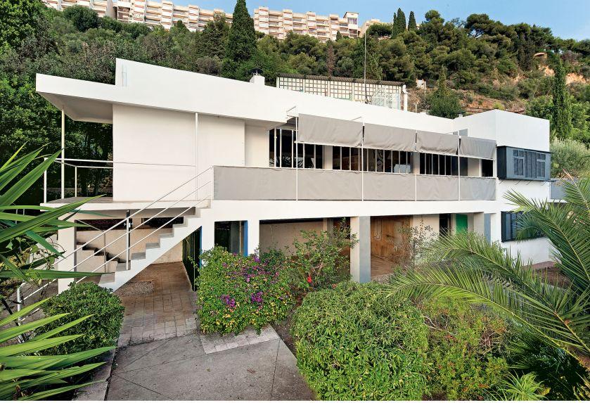 E 1027. Dom, corbusier, eileen gray, styl nowoczesny, wystrój wnętrz, aranżacja wnętrz, nowoczesny salon, domy