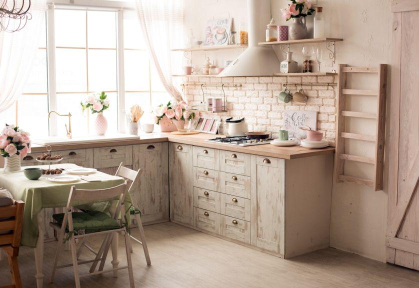 kuchnie rustykalne zdjęcia