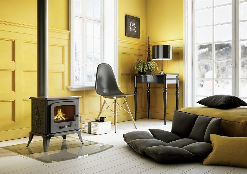 Kominki i grzejniki – 30 inspiracji do salonu, sypialni, kuchni i łazienki