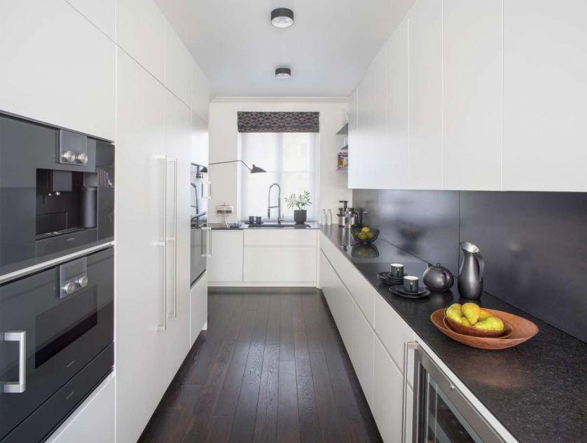 nowoczesne wnętrza szafki do kuchni