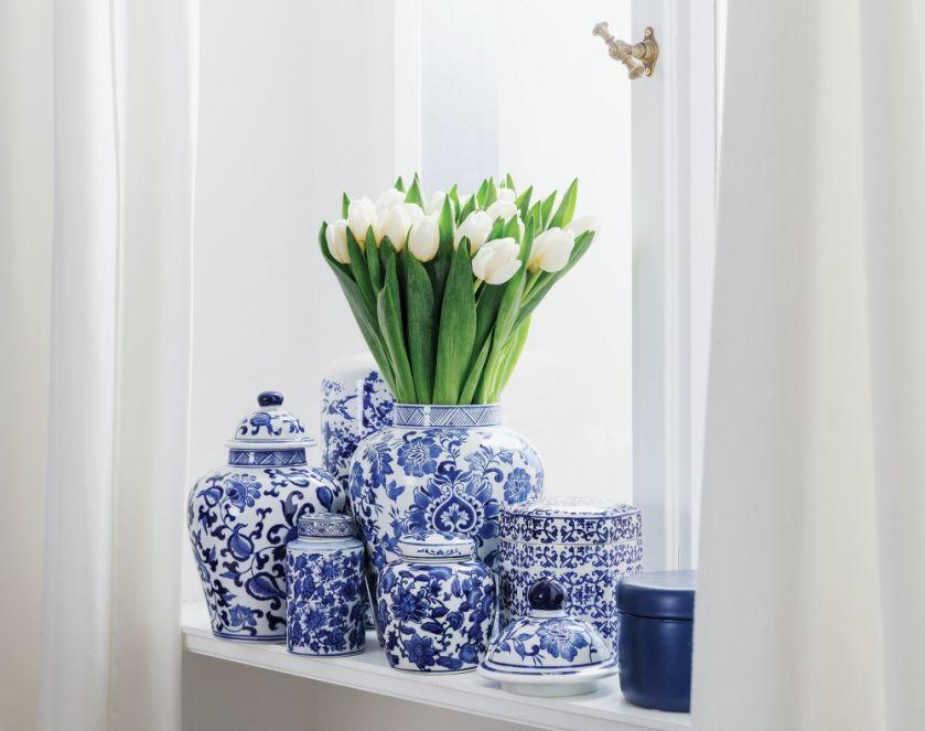 wazon z porcelany
