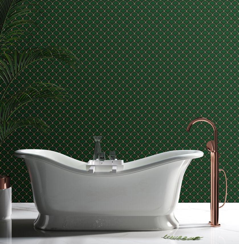 zielone płytki łazienkowe