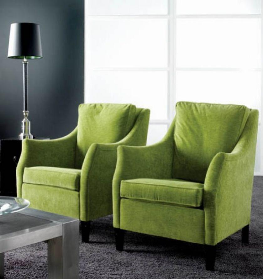 Fotele w tkaninie Distance marki Reynaldo. BM POLSKA