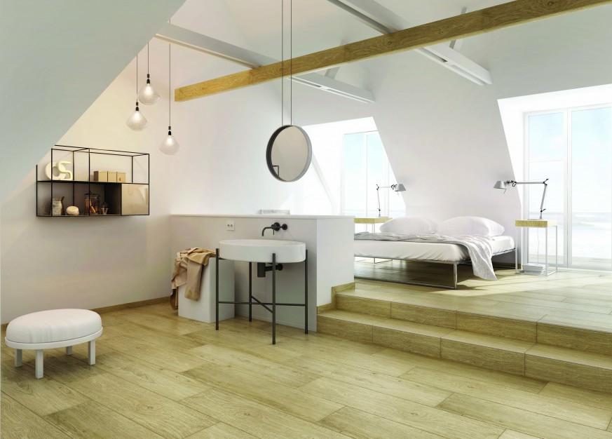 Płytki łazienkowe Z Ceramiki Kamienia Drewna I Szkła